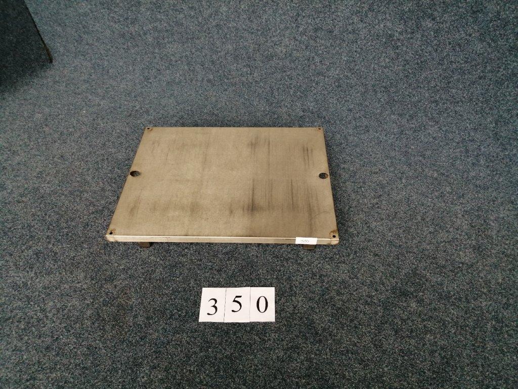 Nerezová police pod stůl, 780x610x140mm