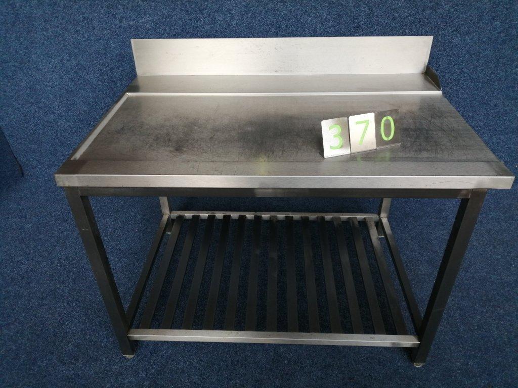 Výstupní stůl z myčky rozměr 1200x785x850mm