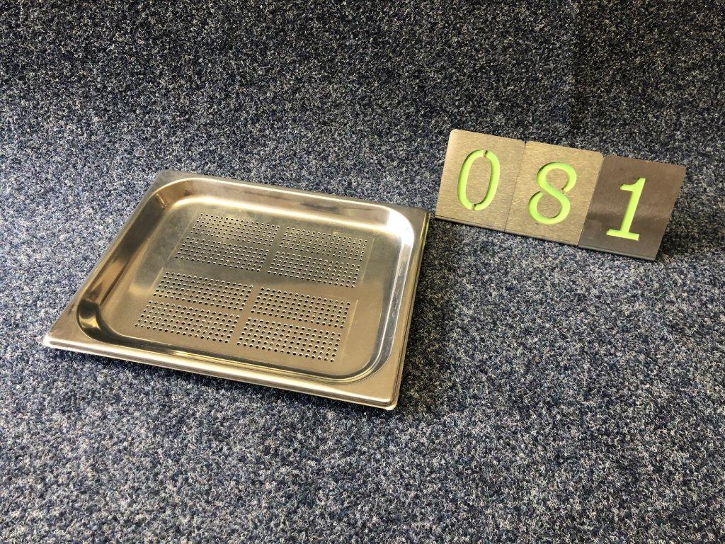 Gastronádoba 1/2-20mm děrovaná, NOVÁ
