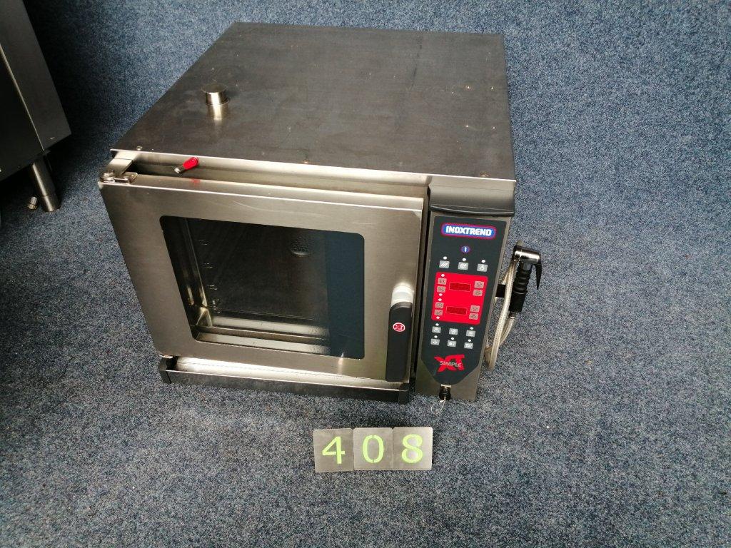 REZERVACE Elektrický konvektomat INOXTREND 5x GN 2/3 + boční sprcha