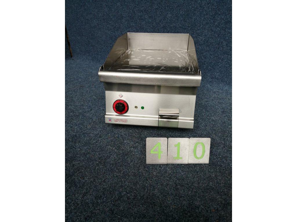 Elektrická grilovací deska hladká RM Lotus