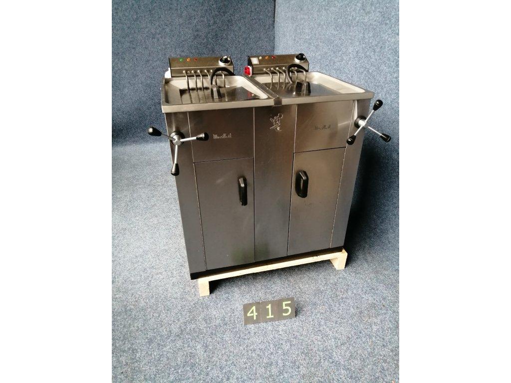 Elektrická dvojitá vodní fritéza Movilfrit FH25-25