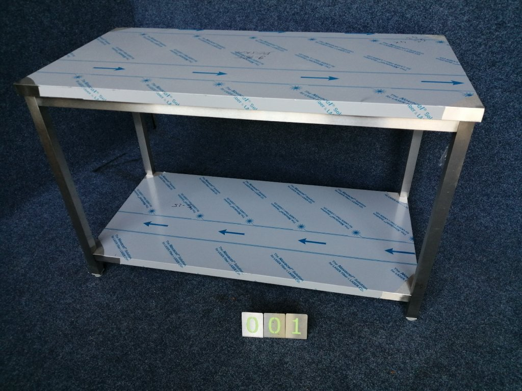 REZERVACE Pracovní nerez stůl s policí, rozměr 1400x700x900mm, NOVÝ