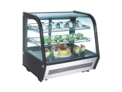 Chladící vitrína pultová, ventilovaná RTW 120 NORDline