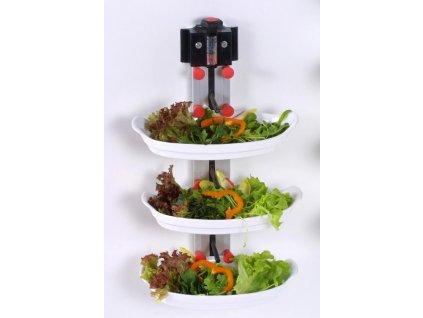 Nástěnný držák na 6 talířů WM 6 - PLATE MATE - držák na talíře