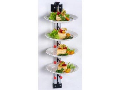 Nástěnný držák na 9 talířů WM 9 - PLATE MATE - držák na talíře
