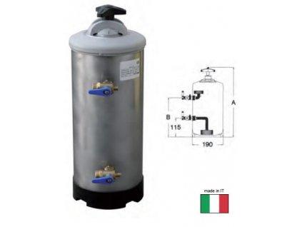 Změkčovač vody dvoukohoutový 12l, LT12