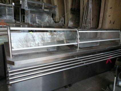 Výdejní linka rozměr 2470x800x900/1250mm
