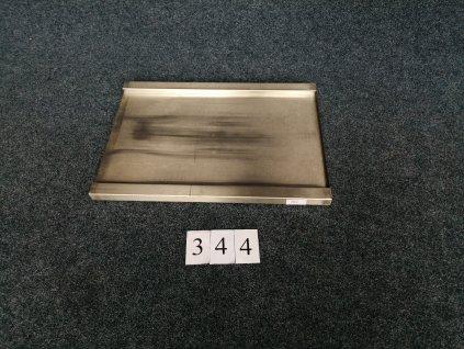 Nerezová pracovní deska s prolisem pro koš 860x610x40mm
