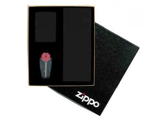 Darčeková krabička na ZIPPO zapaľovač s kamienkami