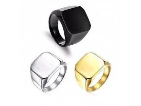 Pánsky prsteň z chirurgickej ocele 1
