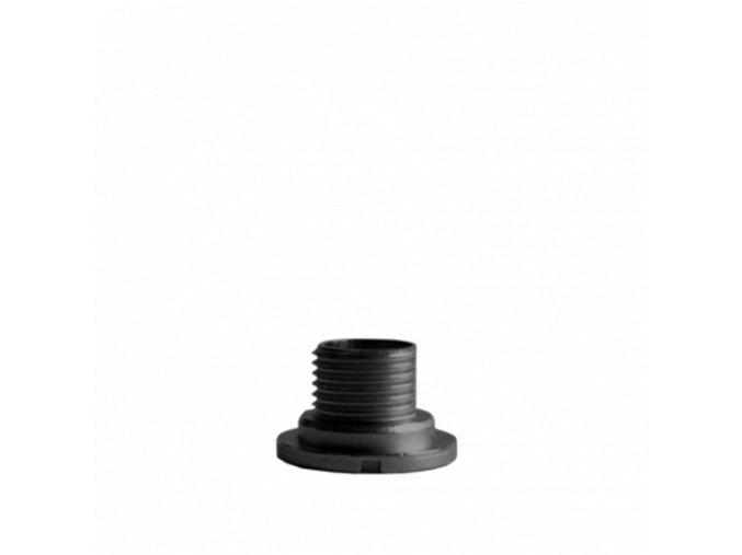 Černý fixační šroub hodinového strojku UTS 7 mm