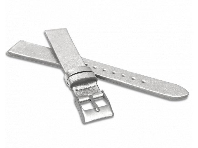Stříbrný řemínek MINET z luxusní kůže Top Grain - 16