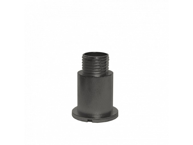 Černý fixační šroub hodinového strojku UTS 16 mm