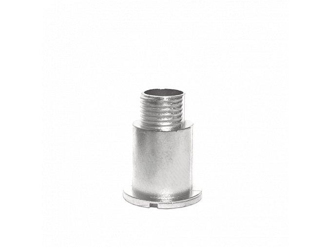 Chromový fixační šroub hodinového strojku UTS 16 mm