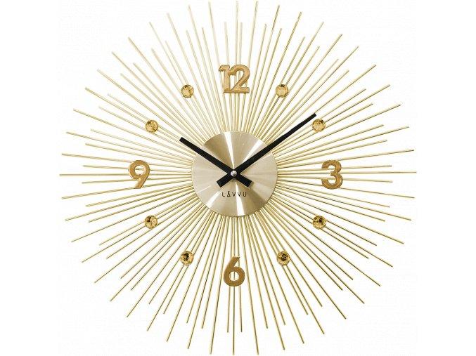 Zlaté hodiny LAVVU CRYSTAL Lines