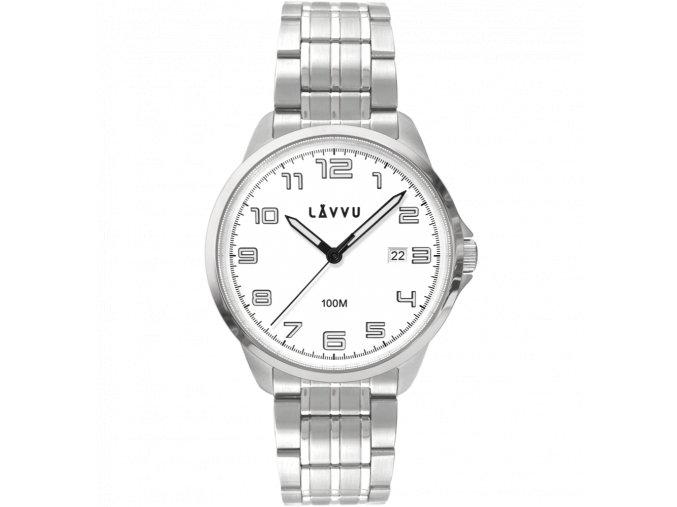 Stylové pánské hodinky LAVVU SORENSEN White