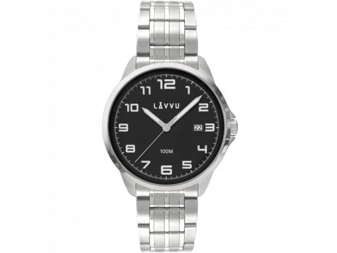 Stylové pánské hodinky LAVVU SORENSEN Black