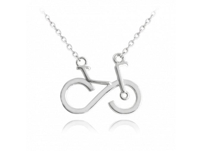 Stříbrný náhrdelník MINET KOLO
