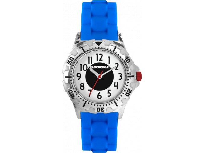 Svítící modré sportovní chlapecké dětské hodinky CLOCKODILE SPORT 3.0