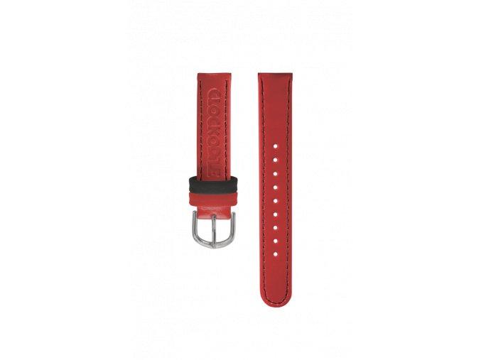 Červený řemínek k dětským hodinkám CLOCKODILE