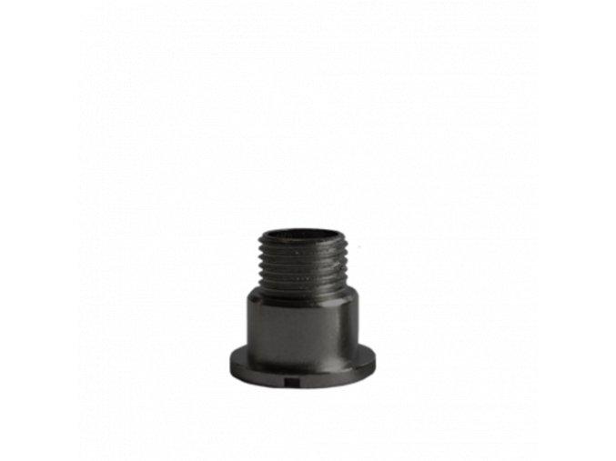 Černý fixační šroub hodinového strojku UTS 11 mm