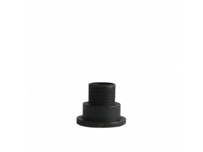 Černý fixační šroub hodinového strojku UTS 9 mm