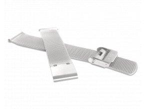 Stříbrný kovový tah MINET MESH Band Original Silver - 16