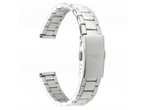 Stříbrný kovový tah MINET Band Original Silver - 14