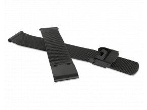 Černý kovový tah MINET MESH Band Original Black - 14
