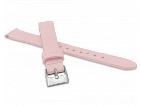 Růžový řemínek MINET z luxusní kůže Top Grain - 14