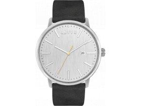 Stříbrno-černé pánské hodinky LAVVU COPENHAGEN