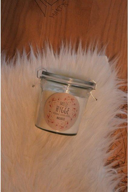 Sójová svíčka 250ml - Magnolie