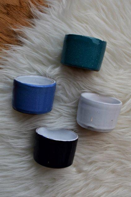 Keramický kalíšek na čajové svíčky