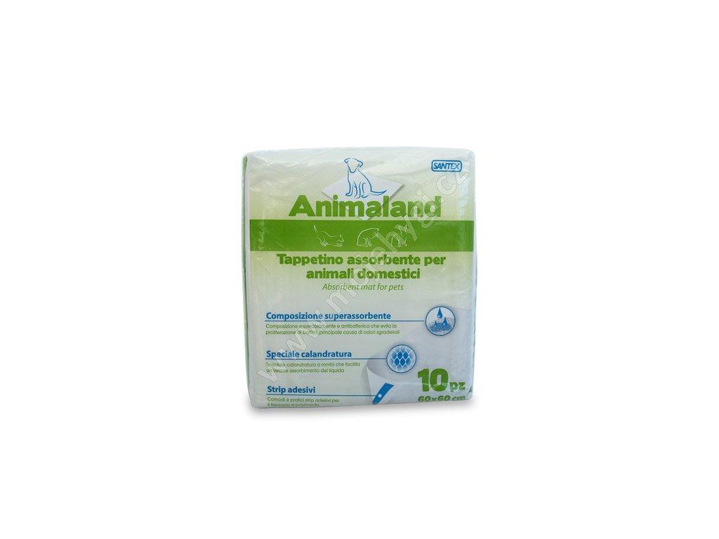 Absorpční podložky Animaland 60x60 - 10 ks