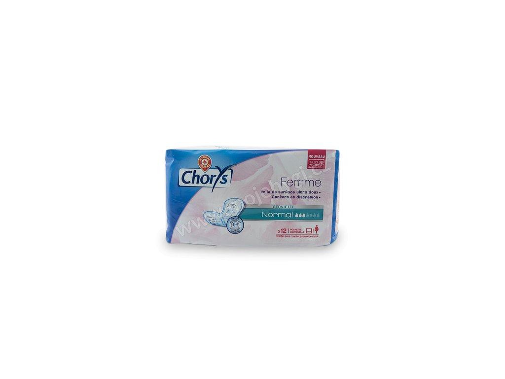 Vložky pro lehkou inkontinenci Chorys NORMAL - 12 ks