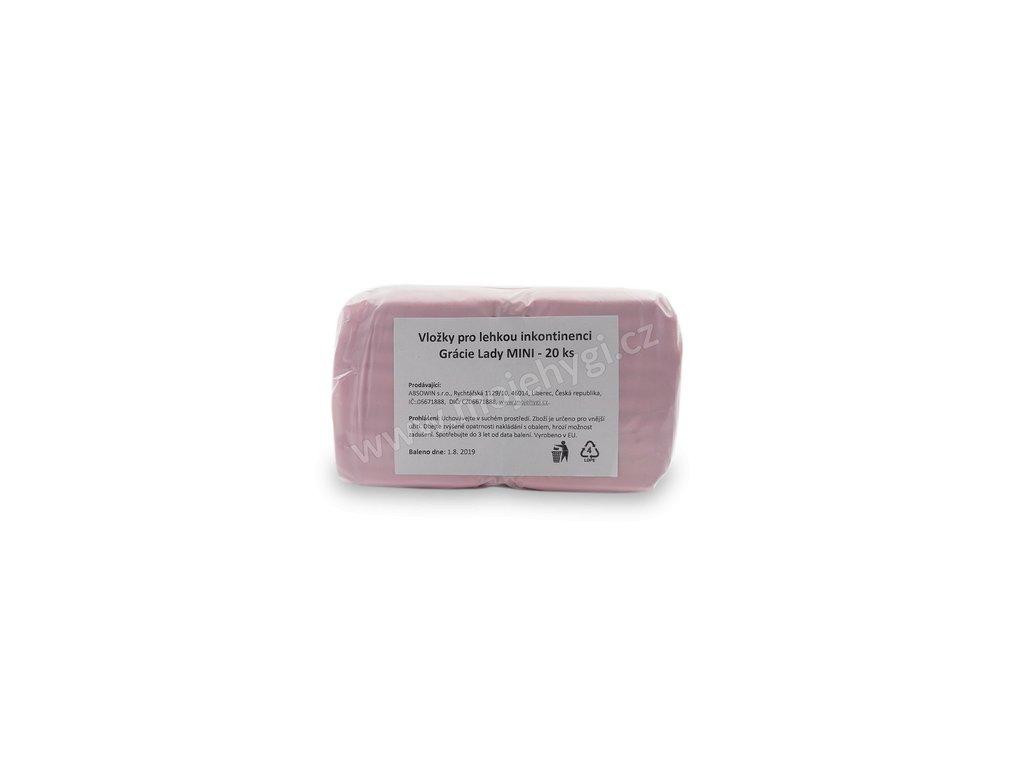 Vložky pro lehkou inkontinenci Grácie Lady MINI - 20 ks