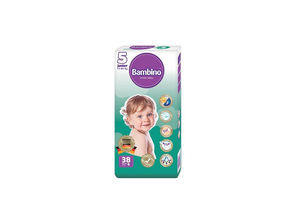 Dětské plenky Bambino JUNIOR (11-25 kg) - 38 ks