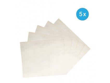 Náhradní filtry pro roušku - 5 ks