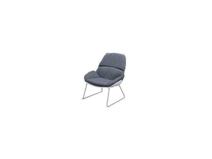 Exotan Tulip Loungestoel Wit Zilver Tuinmeubelen Staal fq 210x210