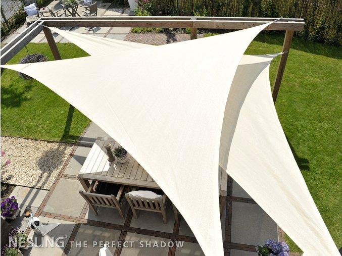 Plachta Coolfit- rovnostranný trojuholník