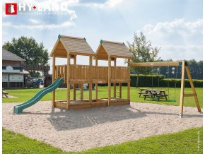 swing sets and playsets climbing frame p4s