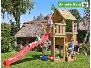 Jungle Cubby veža s červenou šmýkačkou