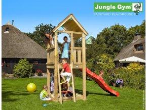 Jungle Club veža s červenou šmýkačkou