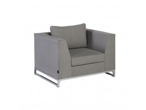 exotan design outdoor sessel rhodos loungesessel nanotex taupe