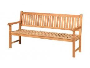 Gartenbank 4 Sitzer Comfort – FSC Teakholz – Persoon Outdoor Living 750621 31