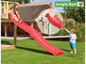 Šmýkačka Jungle Gym 2,65 m červená