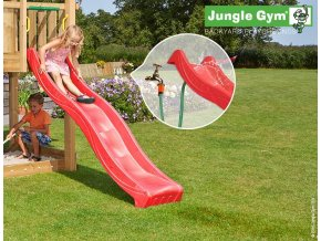 Šmýkačka Jungle Gym 2,2 m červená