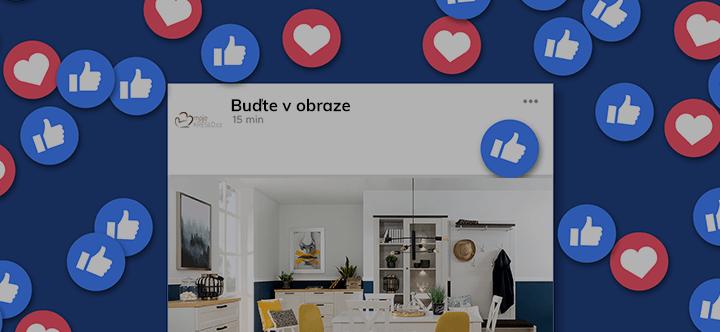 Facebook MojeKreslo.sk
