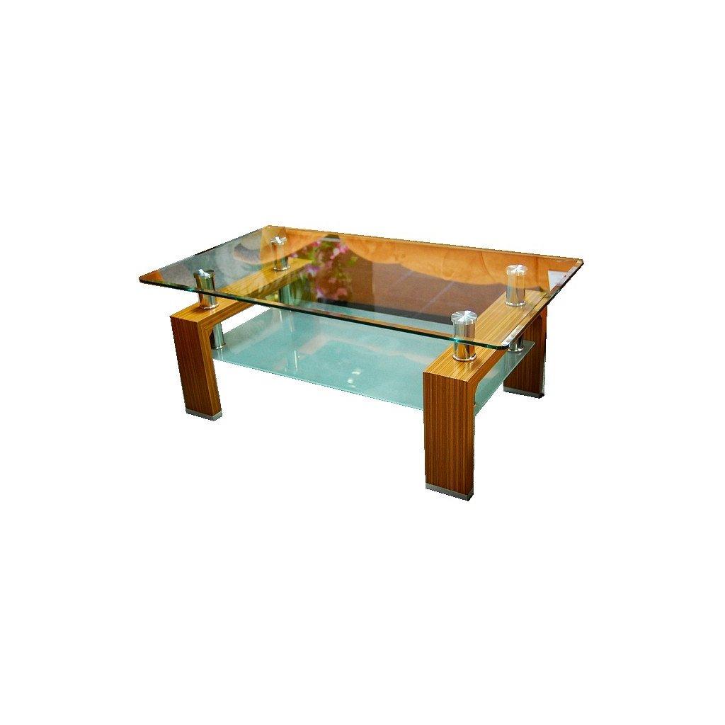 Konferenčný stolík A 08-2 svetlý orech